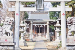 練馬区立 南田中公園 稲荷神社