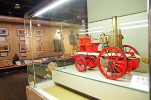 消防博物館 蒸気ポンプ