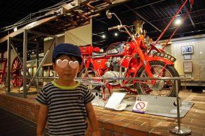 消防博物館 赤バイ