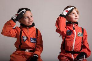 子供 きょうだい 宇宙飛行士