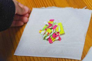 折り紙 餃子の皮