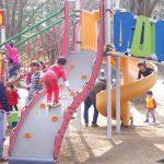 広々とした芝生、大型複合遊具や飛行機がある所沢航空記念公園に子連れで行ってきました!(3歳 0歳)