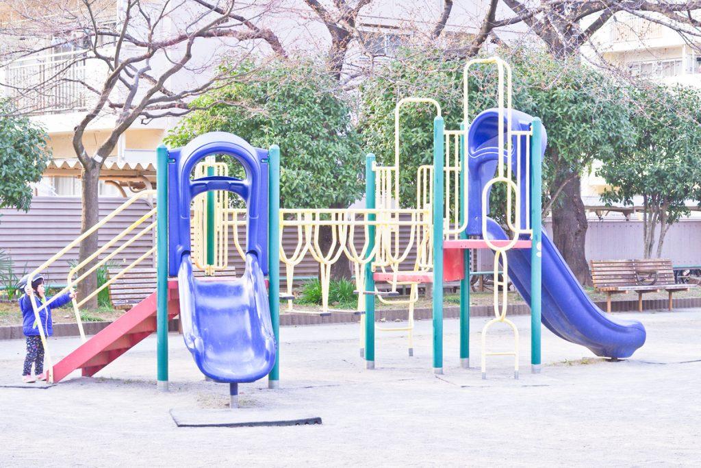 練馬高野台駅 南田中橋 公園 (1)