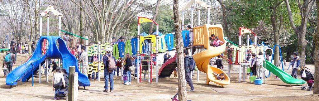 所沢 航空公園 大型複合遊具