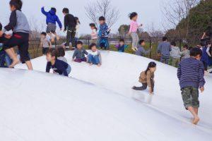 東京都 小金井公園 トランポリン