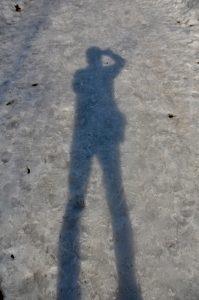 足の長い影