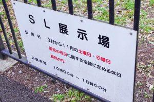 東京都 小金井公園 SL