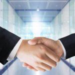 握手-CG-ビジネス
