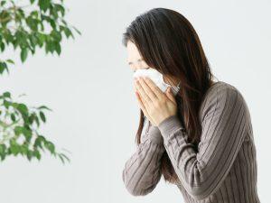花粉症 くしゃみ 風邪