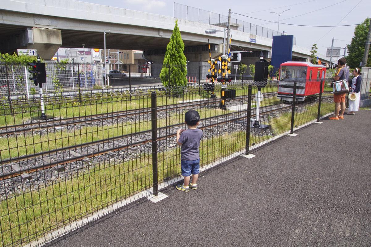 ららぽーと富士見 鉄道広場 セガソニック鉄道