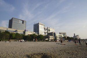 お台場 海浜公園 ビーチ (8)
