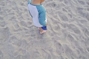 お台場 海浜公園 ビーチ 砂