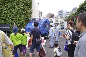 ゴミ収集車 イベント