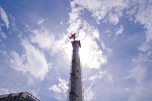 清掃工場の煙突