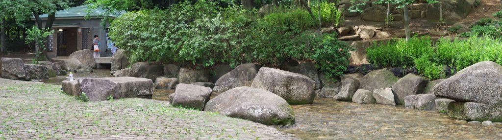 井草森公園-水遊び場-パノラマ