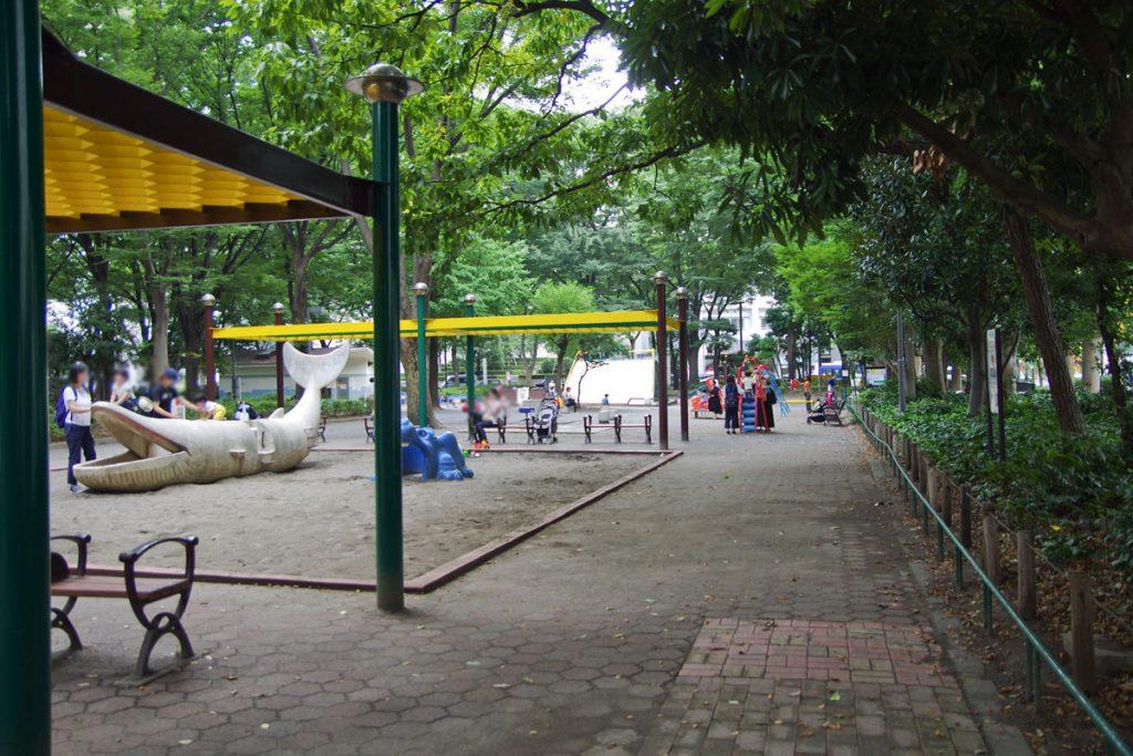 新宿中央公園 ちびっこ広場
