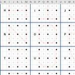 アルファベットの書き方・練習表を作りました。PDF・エクセル(xlsx)でダウンロードできます。3歳・4歳・5歳くらいのお子さんにおすすめ!