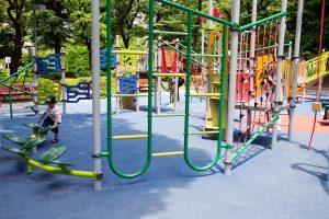 2018年 新宿中央公園 リニューアル 大型複合遊具 アスレチック (4)