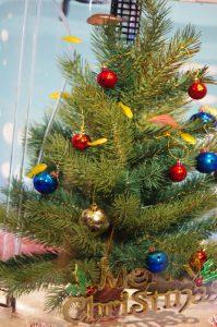 クリスマス 水槽
