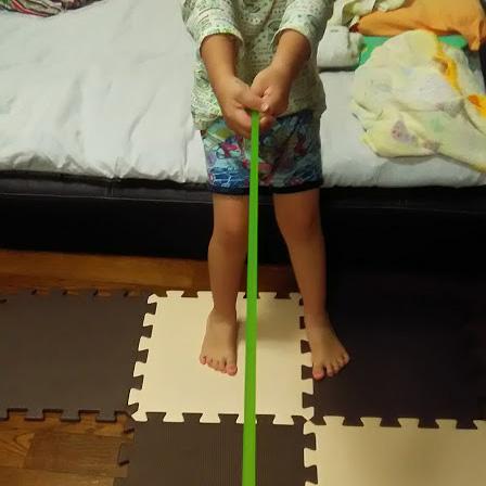 トレーニングチューブ 綱引き