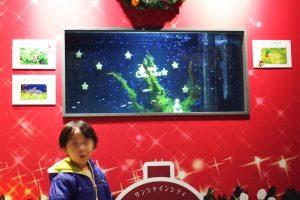 サンシャイン水族館 水槽 クリスマス (3)