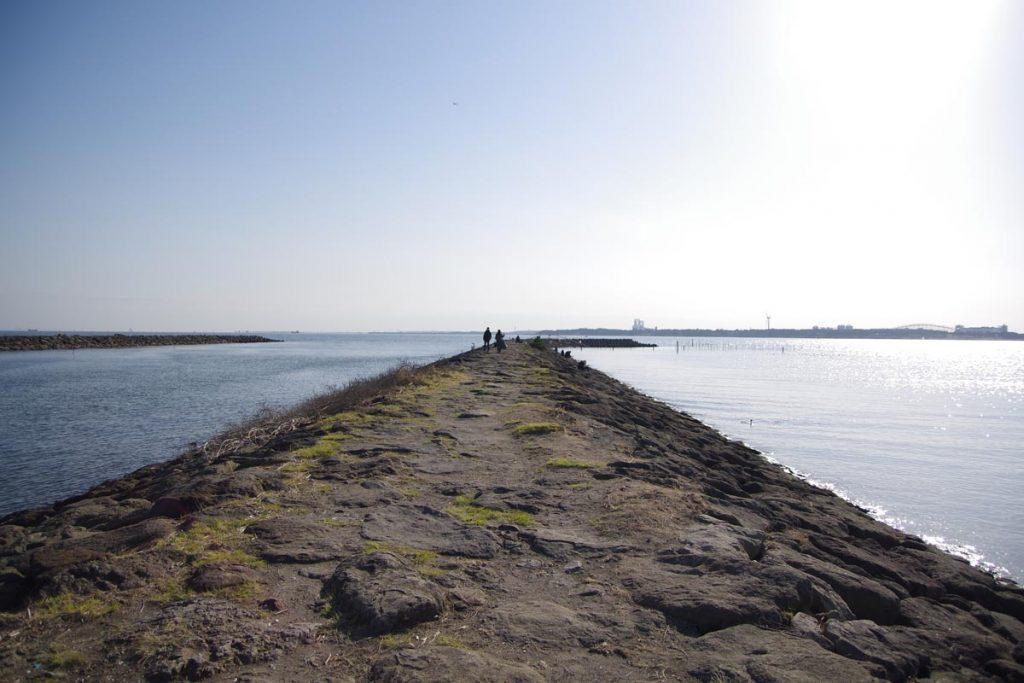 葛西臨海公園 突堤