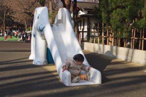 明治神宮外苑 にこにこパーク ミニ滑り台