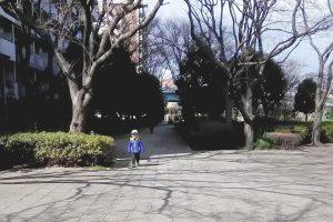 東大島駅 小松川口から大島小松川公園へ