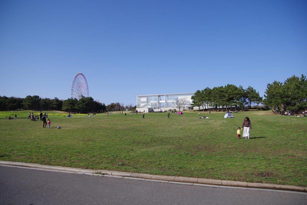 葛西臨海公園 芝生 展望広場