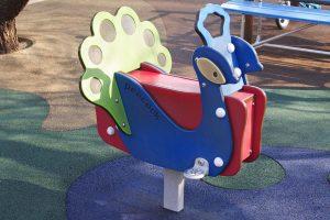 明治神宮外苑 にこにこパーク スプリング遊具