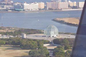 葛西臨海公園 観覧車からの眺め