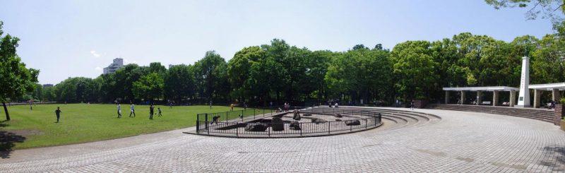 大田区 平和の森公園 広場