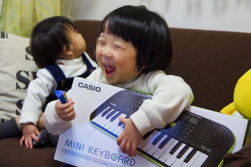 カシオ ミニキーボード SA-46