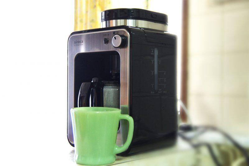 全自動コーヒーメーカー シロカ siroca