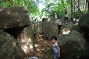 洞窟 石の谷