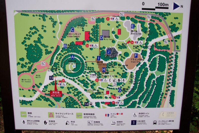 こどもの森 案内図2