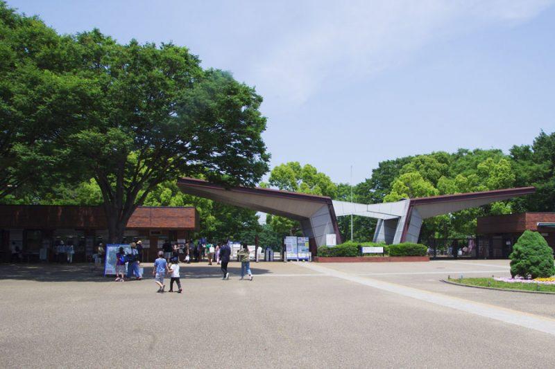 入口(西立川駅)
