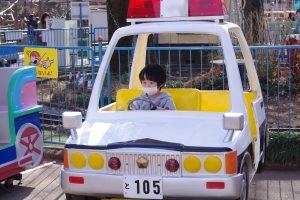 井の頭公園動物園 パトカー