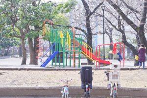 練馬区立 長光寺橋公園 遊具 アスレチック