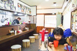 東伏見公園 麺や 野口
