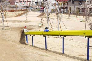 東伏見公園 ローラー滑り台