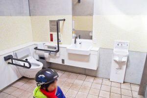 東伏見公園 トイレ内